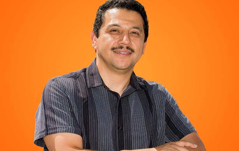 latino man smiling